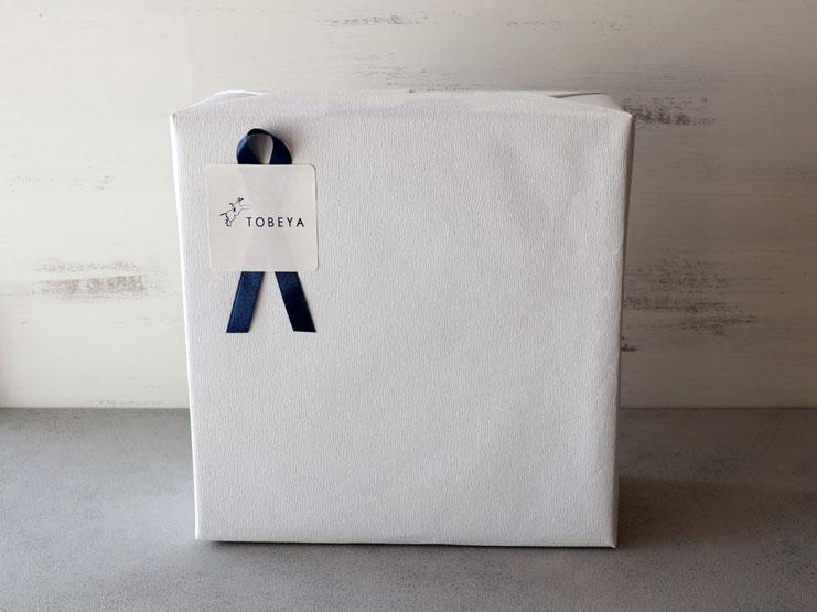 箱+包装紙+シール&リボン
