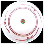 砥部焼文様:赤笹紋